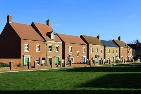 Modern Housing Estate in Coventry