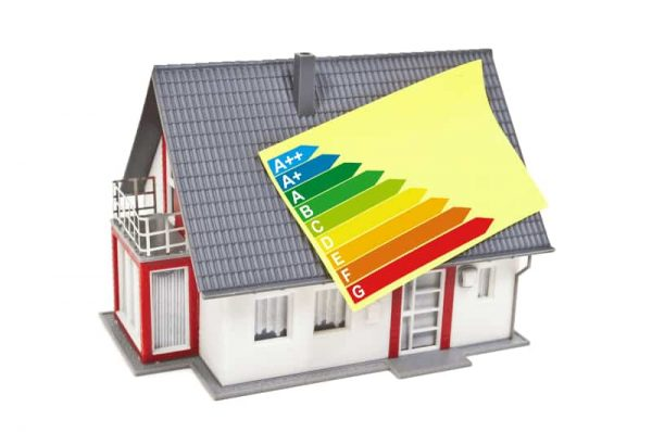House with an EPC certificate